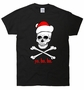 yo ho ho Christmas Pirate Skull T-shirt