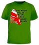 You Know You've Been Bad When Santa Dump Funny T-Shirt