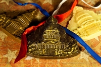 Capitol - Solid White Chocolate (GREAT CONFERENCE & CONVENTION GIFTS & WEDDING FAVORS!)