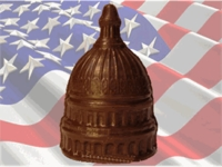 Capitol Dome - Solid Milk Chocolate