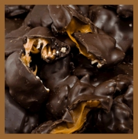 Pecan Turtles - Dark Chocolate (1 lb. box)