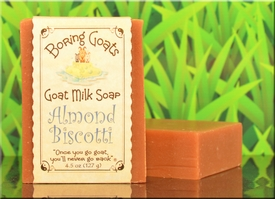 """Almond Biscotti"" Goat Milk Soap"