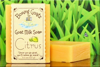 """Citrus"" Goat Milk Soap"