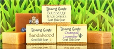 Goat Milk Soap half bars