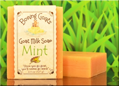 Mint Goat Milk Soap