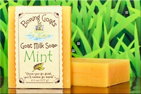 """Mint"" Goat Milk Soap"