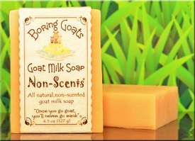 """Non-Scents"" All Natural Goat MIlk Soap"