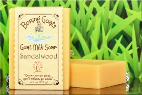 """Sandalwood"" Goat Milk Soap"