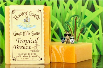"""Tropical Breeze"" Goat Milk Soap"