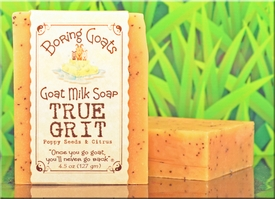 """True Grit"" Goat Milk Soap"
