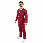 """Anchorman Ron Burgundy 13"""" Tall Talking Action Figure"""