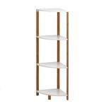 Bamboo Corner Shelf