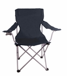 Black Camping Chair
