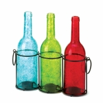 Carrington Trio Bottle Candleholder