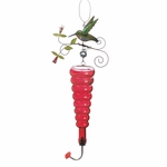 Cheery Red Hummingbird Feeder