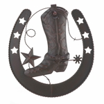 Cowboy Horseshoe Wall Decor