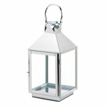 Dapper Large Stainless Steel Lantern