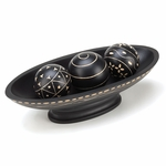 Ebony Decorative Ball Tray