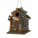 Fishing Cabin Birdhouse