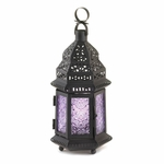 Light Purple Moroccan Lantern