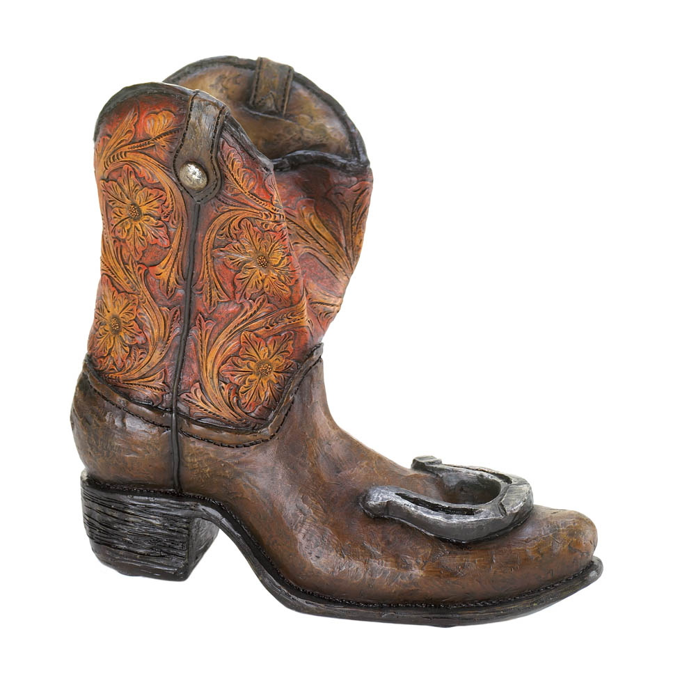 Cowboy Boot Wine Bottle Holder Lucky Cowboy Boot Wine Bottle