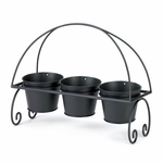Metal Planter Trio