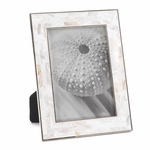 """Mother Of Pearl Mosaic Frame 5"""" X 7"""""""