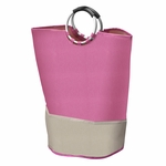 Pink Laundry Tote Bag