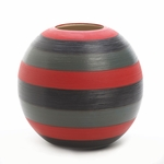Safari Stripes Round Vase