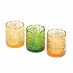 Citrine Candle Cups Trio