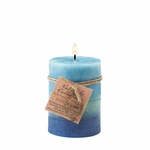 Soothing Leaf Pillar Candle