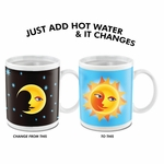 Sun and Moon Changing Mug