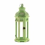 Tall Green Tower Lantern