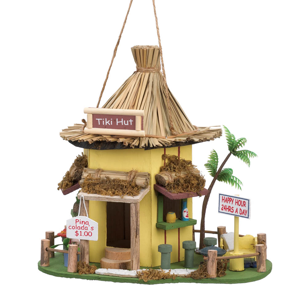 Tiki Hut Birdhouse Wholesale at Eastwind Wholesale Gift ...