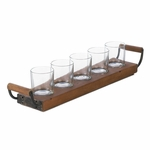 Wooden Tray Candleholder