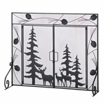 Woodland Wonder Fireplace Screen