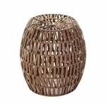 Woven Cane Stool