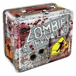 Zombie Survival Tin Lunch Box
