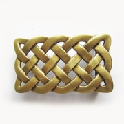 40mm Solid Brass Belt Buckle Celtic Keltic Knot Belt Buckle
