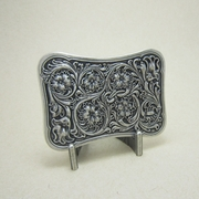 Original Silver Plated Western Flower 2013 New Celtic Belt Buckle