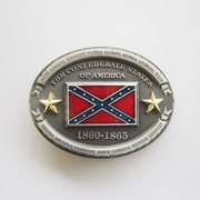 Men Belt Buckle Oval American Star Flag Belt Buckle Gurtelschnalle Boucle de ceinture