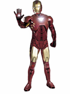 Adult Adult Iron Man 2 Mark VI Costume - Super Deluxe