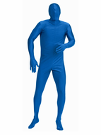 Adult Blue Invisible Man Costume