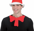 Adult Cat In The Hat Bow Tie