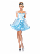 Adult Glass Slipper Cinderella Costume