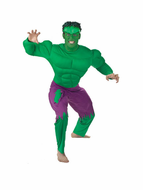Adult Incredible Hulk Deluxe Muscle Costume