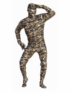 Adult Invisible Jungle Warrior Costume