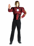 Adult Iron Man Muscle Costume