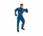 Adult Mr. Fantastic Muscle Costume