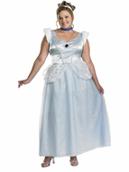 Adult Plus Cinderella Deluxe Costume